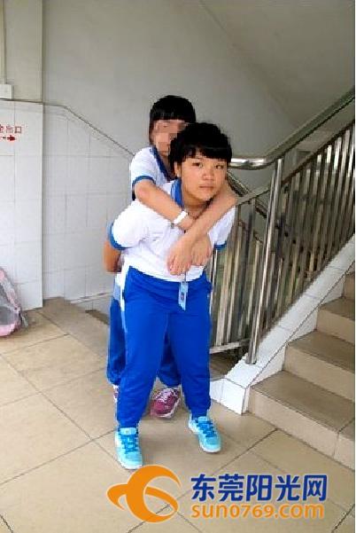 最美南粤少年 蔡绮程 十年如一日伴残疾同学身边
