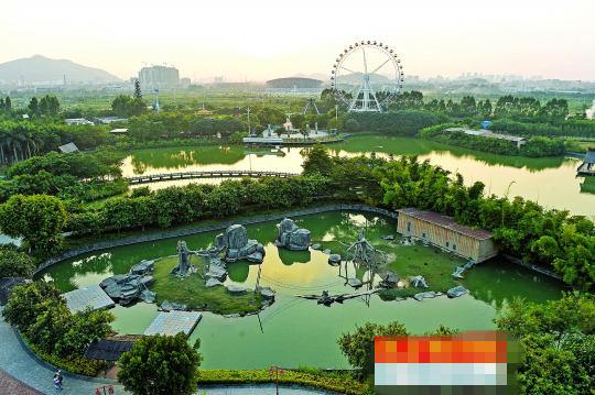 东莞市香市动物园被严重警告.记者 陈奕启 摄