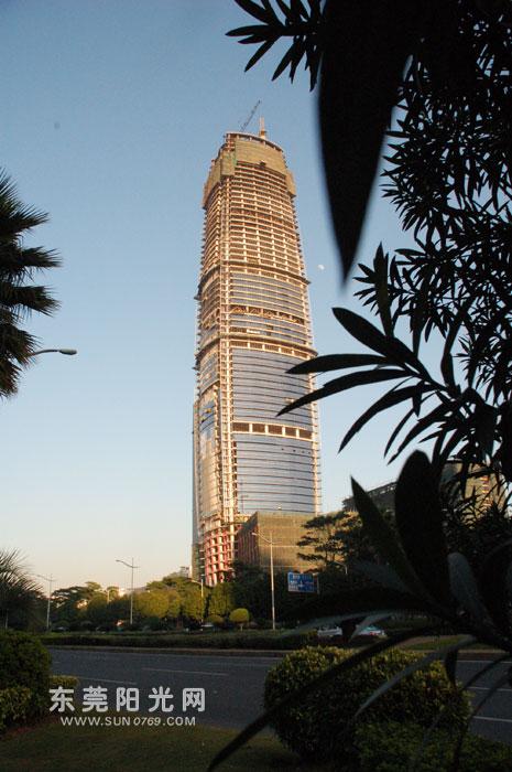 揭秘东莞第一高楼:东莞台商大厦