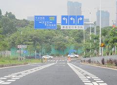 从东莞去深圳再添一条新路 再等几天就可以通车啦!